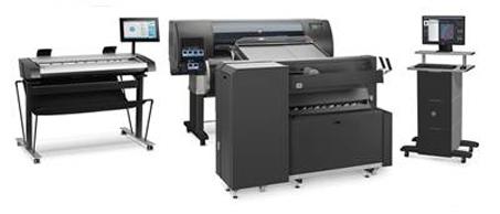 HP Plotter Repairs in Northampton - Call 0800 526 716 - HP